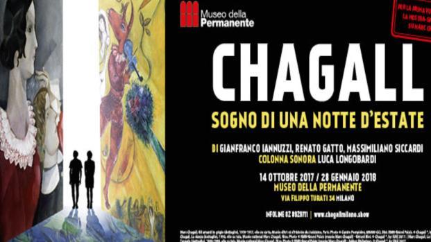 A Milano la mostra spettacolo su Chagall