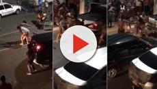 Assista: Mulheres brigam durante festa na Bahia e vídeo viraliza na internet