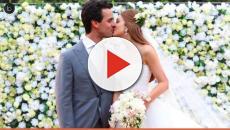 Marina Ruy Barbosa comemora 1 mês de casada