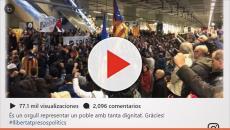 Puigdemont se muestra en instragram agradecido con los hueguistas