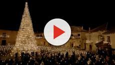 El anuncio de la lotería de Navidad