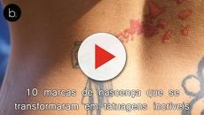 10 marcas de nascença que se transformaram em tatuagens incríveis