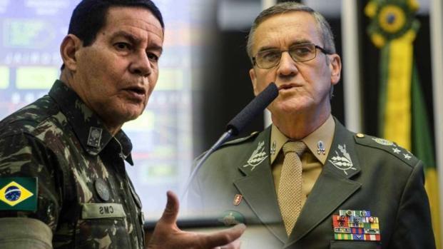 Vídeo: Doença de general Villas Bôas pode colocar Mourão no comando do Exército