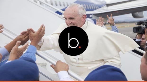 O Lamborghini do Papa Francisco