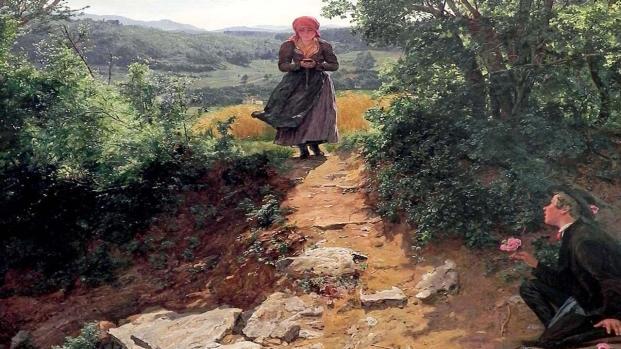 Viaggi nel tempo: la prova in un dipinto del XIX secolo?