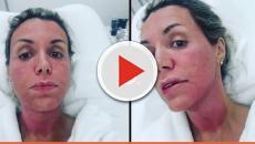 Renata Banhara volta a trabalhar após operar o cérebro e tirar nervo 'podre'