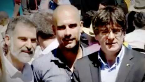 Sale a la luz el maquiavélico plan independentista de Pep Guardiola
