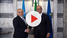 Missione del ministro degli Affari esteri, Angelino alfano, a new york