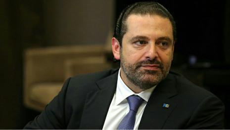 Emmanuel Macron reçoit l'ex premier ministre libanais à l'Elysée