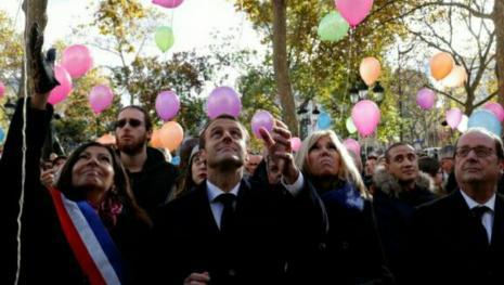 Quand Macron rend hommage aux victimes du 13 novembre