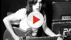 Morreu neste sábado o guitarrista da banda AC/DC