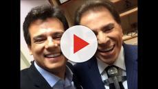Vídeo - Silvio Santos se reaproxima de Celso Portiolli