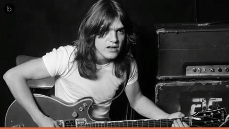 Adíos al guitarrista Malcolm Young.