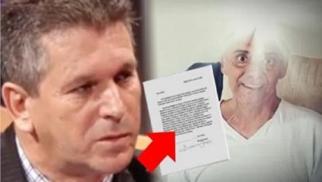 Assista: Carta psicografada por Rezende revela algo assustador e surpreendente