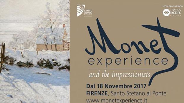 La mostra Monet Experience è stata inaugurata il 18 novembre 2017