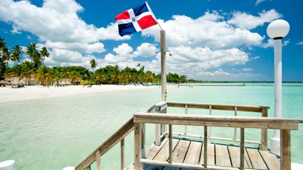 Turismo soleado en Playa Bávaro, República Dominicana