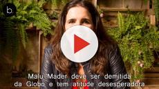 Malu Mader deve ser demitida da Globo e tem atitude desesperadora