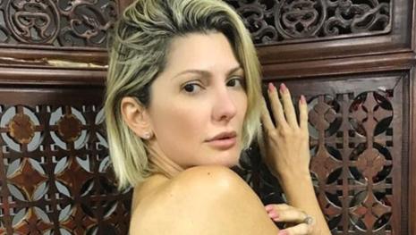 Assista: Giovanna Fontenelle posta foto inusitada para mostrar tatuagem nova