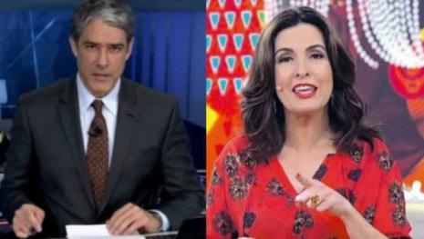 Vídeo: Fátima Bernardes e Bonner passam final de semana romântico