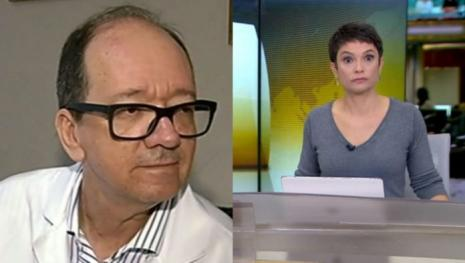 Vídeo: Sandra Annenberg fica impressionada após inesperada resposta de médico.
