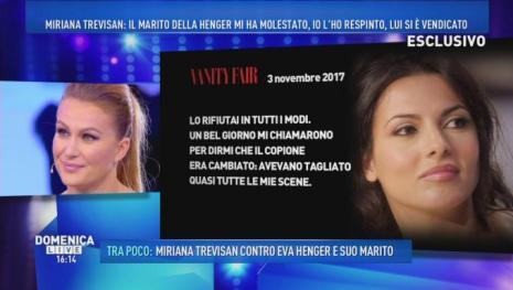 Miriana Trevisan contro Barbara D'Urso
