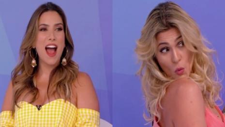 Bate-boca entre Lívia Andrade e Patrícia Abravanel termina em baixaria