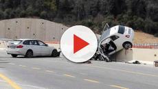 Un terribile incidente stradale è stato registrato oggi 23 novembre