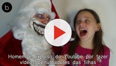 Homem é expulso do Youtube por fazer vídeos perturbadores das filhas