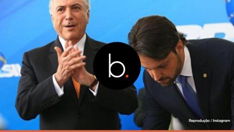 Assista: O Presidente Michel Temer elogia Baldy durante posse no Planalto