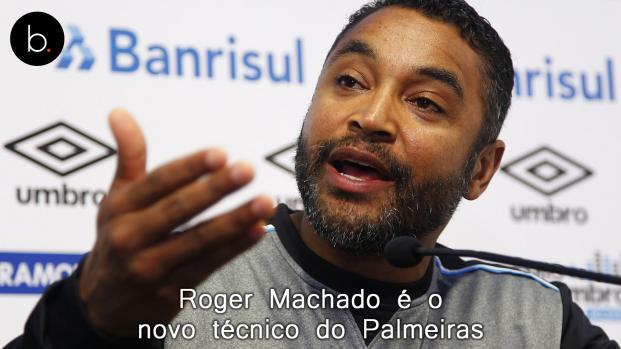 Roger Machado é o novo técnico do Palmeiras