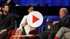 Belen Rodriguez difende Cecilia durante il Maurizio Costanzo Show