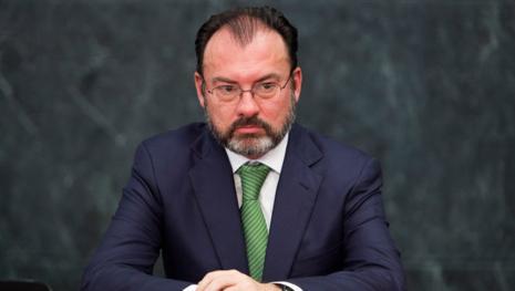 Videgaray elogia a Meade, probable candidato del PRI a la presidencia