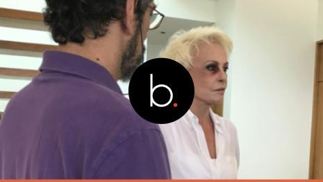 Com olho roxo, Ana Maria, em vídeo, implora para o fim de agressões: 'Parem!'