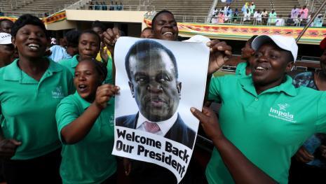 Mnangagwa, una esperanza para Zimbabwe