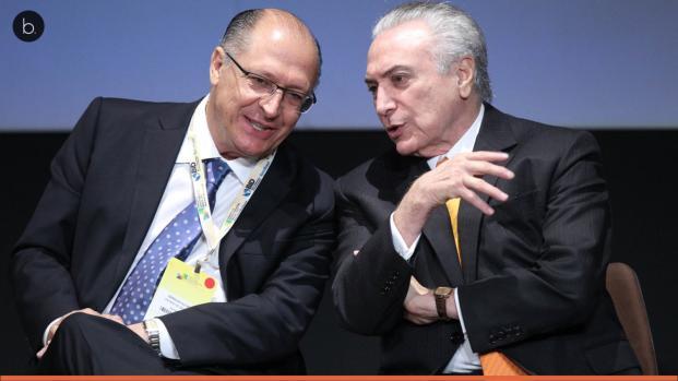 Vídeo: Temer convida Alckmin para acertar saída do PSDB do governo