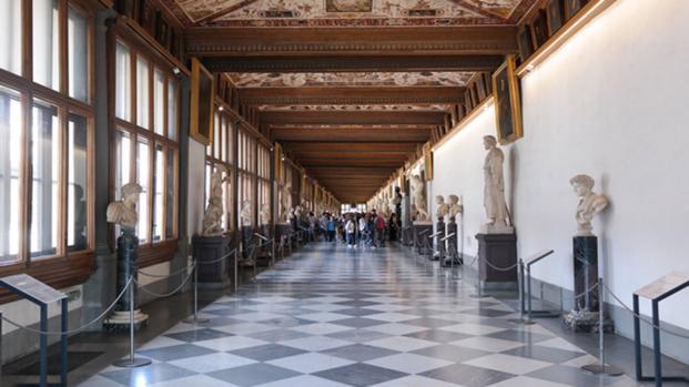 Allarme incendio nella Galleria degli Uffizi