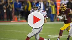 Eli Manning has been moved to the bench