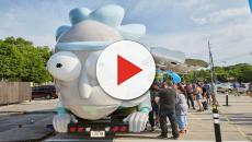 The 'Rick and Morty' Rickmobile gets a $54 ticket for not paying a toll