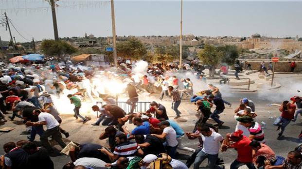 Gli scontri più violenti a Betlemme, Ramallah ed Hebron, i feriti sono centinaia