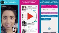 Assista: Aprender inglês ou espanhol? App permite conversar e treinar