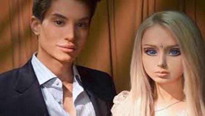 La versione umana di 'Barbie' e 'Ken' si sono incontrati per la prima volta