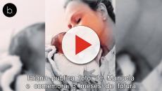 Em foto no Instagram, Eliana comemora 3 meses da filha e detalhe emociona: luta