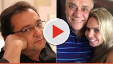 Geraldo Luís é flagrado com namorada durante festa e vídeo chama a atenção