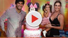 Assista: Maria flor teve 2 festas de aniversário e 1 foi secreta