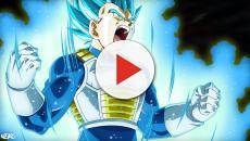 'DBS' Vegeta desatando un poder similar a Dios mientras lucha contra Jiren