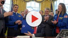 Trump quiere establecer una base en la Luna para tratar de alcanzar Marte