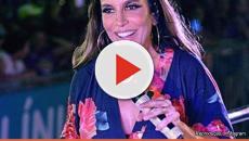 Assista: Ivete Sangalo não se sente bem em show e pede ajuda