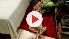 Assista: Menina fica ferida após cair do 3° andar de um apartamento