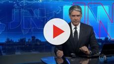 Vídeo - William Bonner paga mico ao vivo