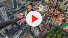Vídeo: jovem morre ao cair de 62º andar
